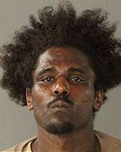 Kevin Riley, 29, of San Jose, was arrested early Sunday on suspicion of attempted murder of a police officer and possession of a stolen firearm. (Courtesy of the San Jose Police Department)