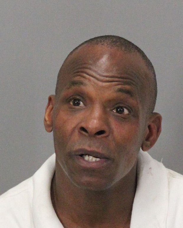 Rudi Romano Griffin, 43, of East Palo Alto, was arrested Tuesday in connection with a bank robbery in Palo Alto, according to police. (Courtesy of the Palo Alto Police Department)