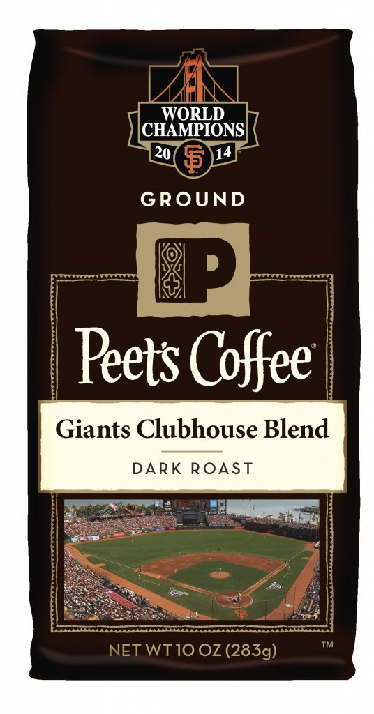 Peet's new baseball blend is part of a fundraising effort. (Photo courtesy of Peet's Coffee)