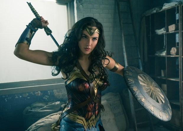 Gal Gadot as Wonder Woman in 'Wonder Woman.' (Clay Enos/Warner Bros.)