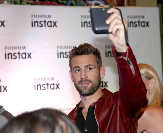 TV personality Nick Viall attends the 102.7 KIIS FM Artist Gift Lounge presented by FUJIFILM INSTAX at iHeartRadio's Jingle Ball 2016 presented by Capital One at Staples Center on December 2, 2016 in Los Angeles, California. (Photo by Phillip Faraone/Getty Images for iHeartMedia)
