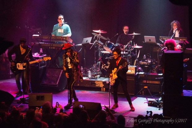 The Revolution play the music they originally made with the late Prince. Photo by Robert Georgeff