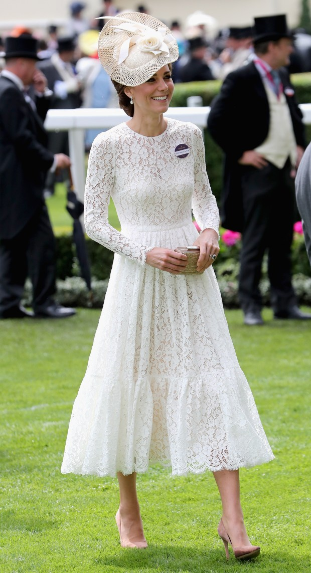 478a0b4dbfea4 Kate Middleton or Audrey Hepburn  Who did Ascot better
