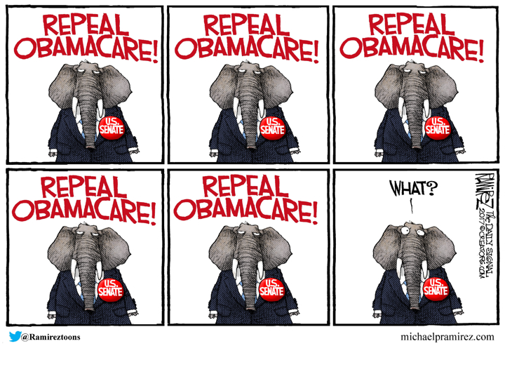 Michael Ramirez / The Daily Signal