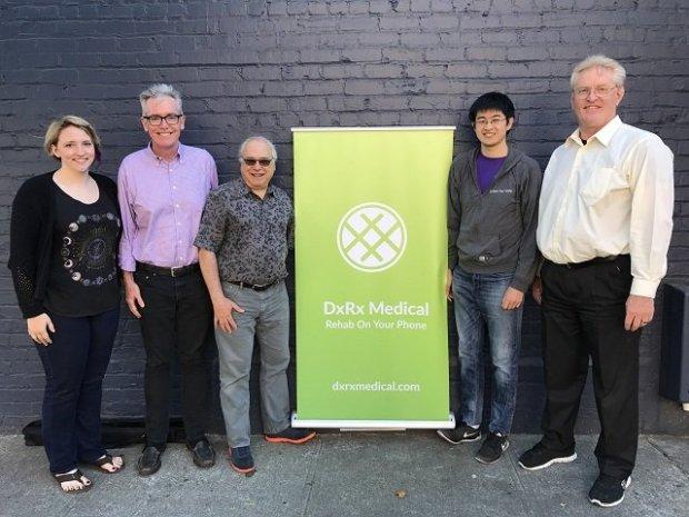 The DxRx Medical team. (Courtesy of DxRx)