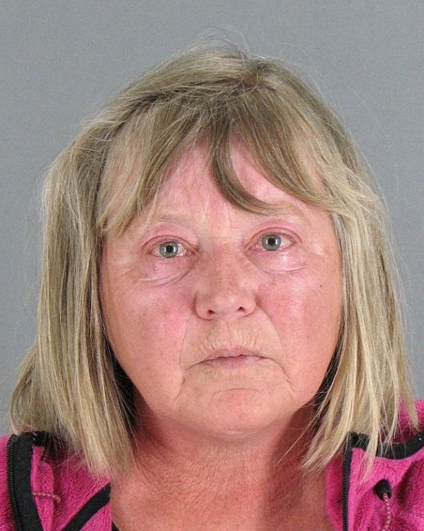 Evgeniya Martynova, 64, of San Mateo, was arrested on suspicion of driving under the influence following a crash at Cipriani Elementary School in Belmont. An 11-year-old boy was injured. (Courtesy of the Belmont Police Department).