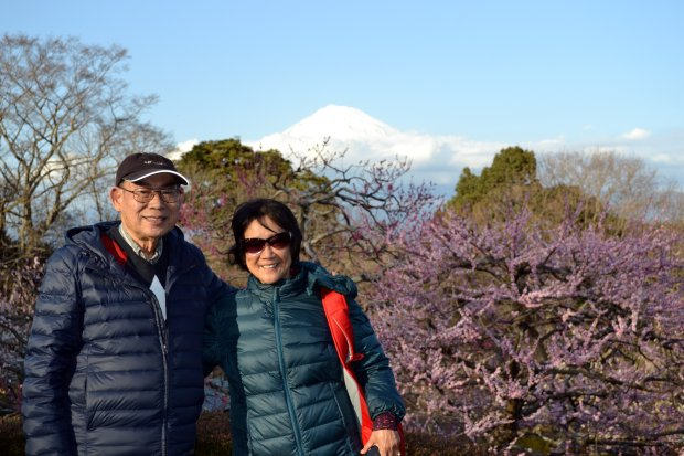 JAPAN: San Jose residents Michael and Cathy Van recently spent two weekstraveling from Tokyo to Kyoto. (Photo courtesy of the Van Family)