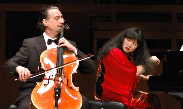 Music@Menlo Co-Artistic Directors David Finckel and Wu Han. Courtesy of Music@menlo.