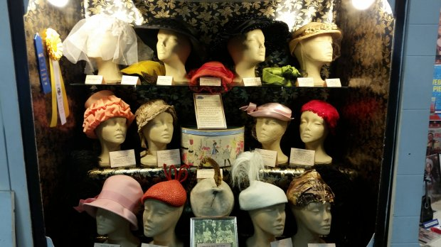 Marjory Laverty, of Oakland, took home awards for her collection of women'svintage hats. (Photo courtesy of the Alameda County Fair)