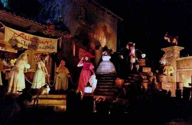 Disneylands Pirates of the Caribbean ride changes spark