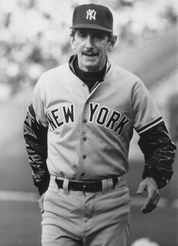 Oakland, CA May 20, 1983 - Billy Martin, Yankees manager. (Ron Riesterer / Oakland Tribune Staff Archives)