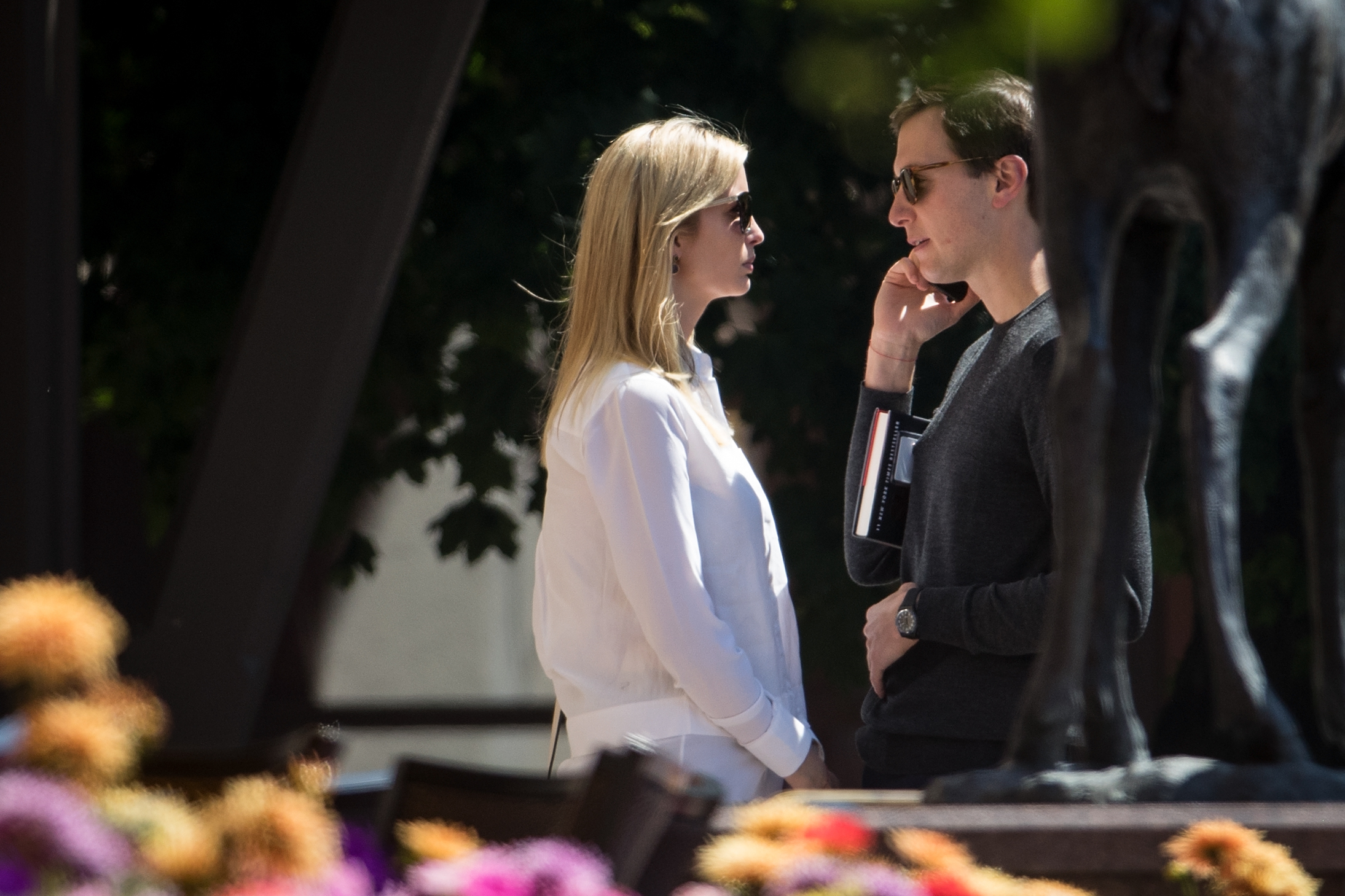 Image result for photos of ivanka and jared kushner sun valley