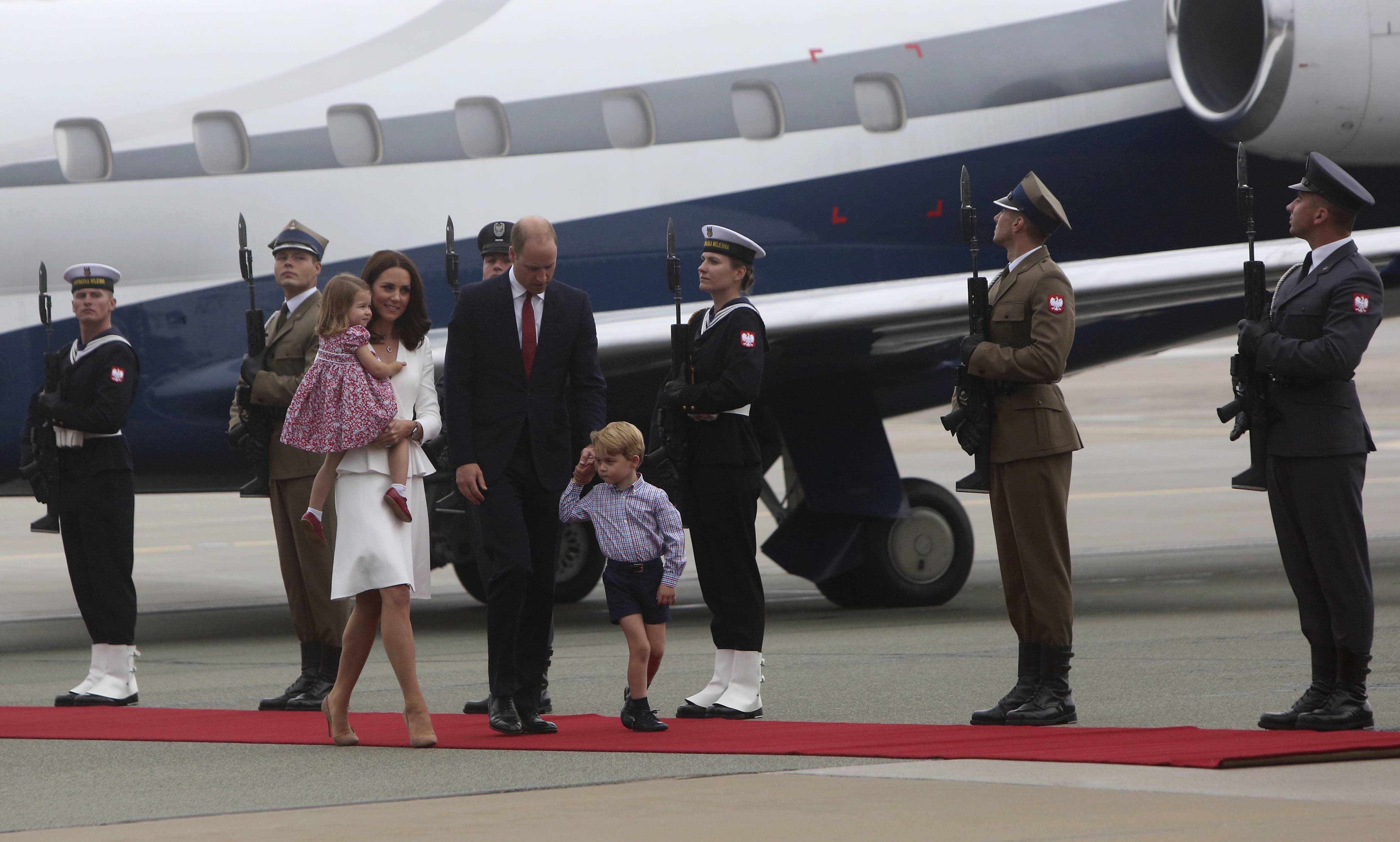 William and Kate to meet Holocaust survivors during tour of Poland