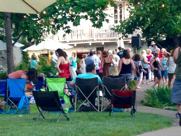 Summery Friday nights at Boeger Winery in Apple Hill bring live music to thevineyards. Photo credit: Mary Orlin/Staff