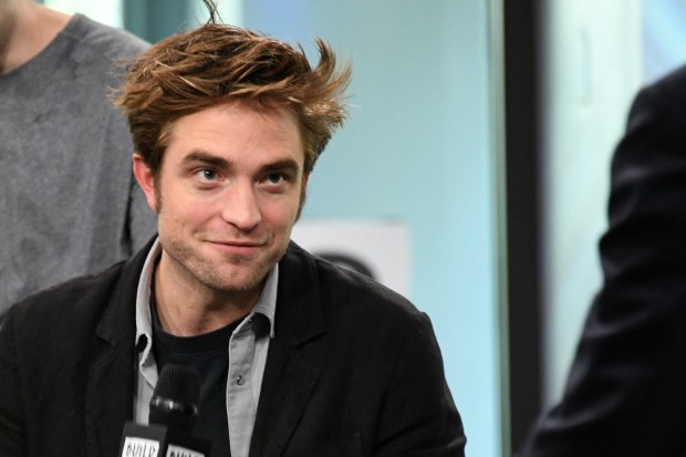 "Pattinson at a ""Good Time"" publicity event in New York City. (Dia Dipasupil/)"