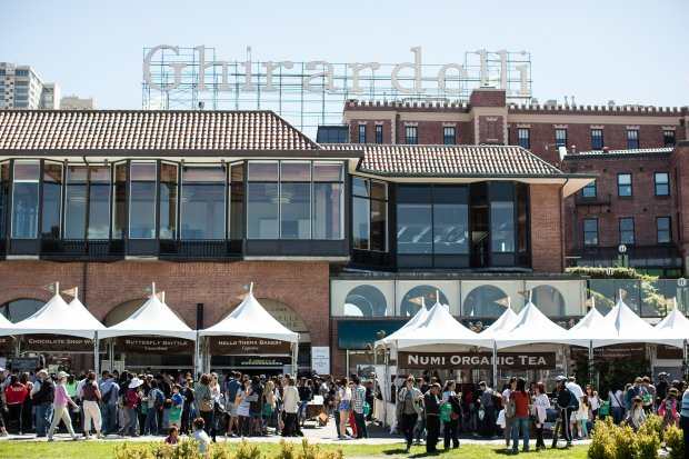 San Francisco's Ghirardelli Square is getting ready for its chocolateclose-up, the 22nd annual Ghirardelli Chocolate Festival on Sept. 9 and 10. The event features sweets, wine, beer and more from more than 50 vendors and chefs. (Photo: Ghirardelli Square)
