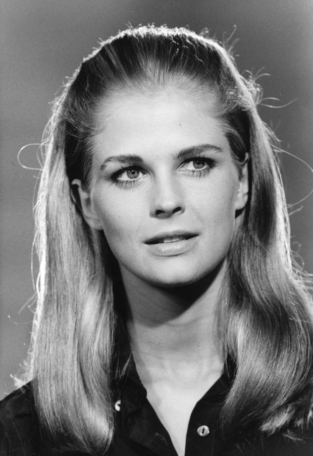 circa 1967: US actress and photojournalist Candice Bergen (1946 - ). (Photo by Keystone/Getty Images)