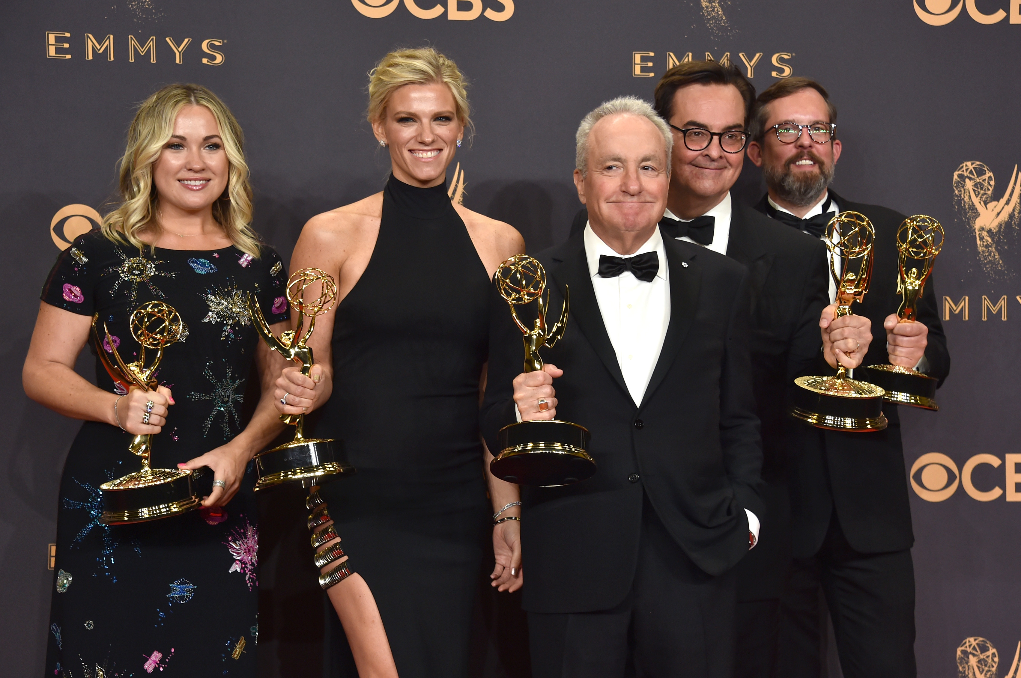 Ben Affleck was secretly at the Emmys with girlfriend Lindsay Shookus