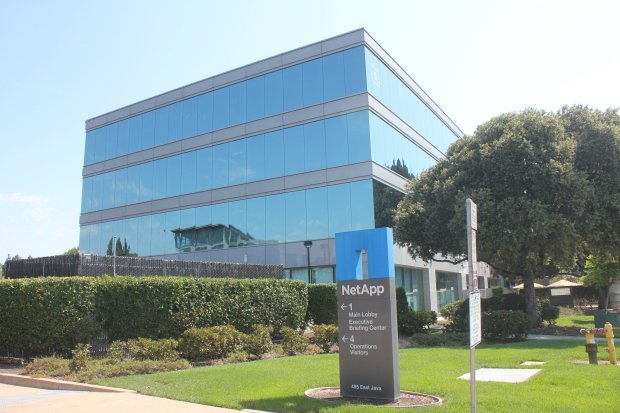 A NetApp building at 495 E. Java Drive in Sunnyvale. Google has struck anearly $319 million deal to buy more properties in Sunnyvale, this time from NetApp, in a transaction that will propel the search giant's buying binge in the area past the $1 billion mark. BANG Staff Photo / George Avalos
