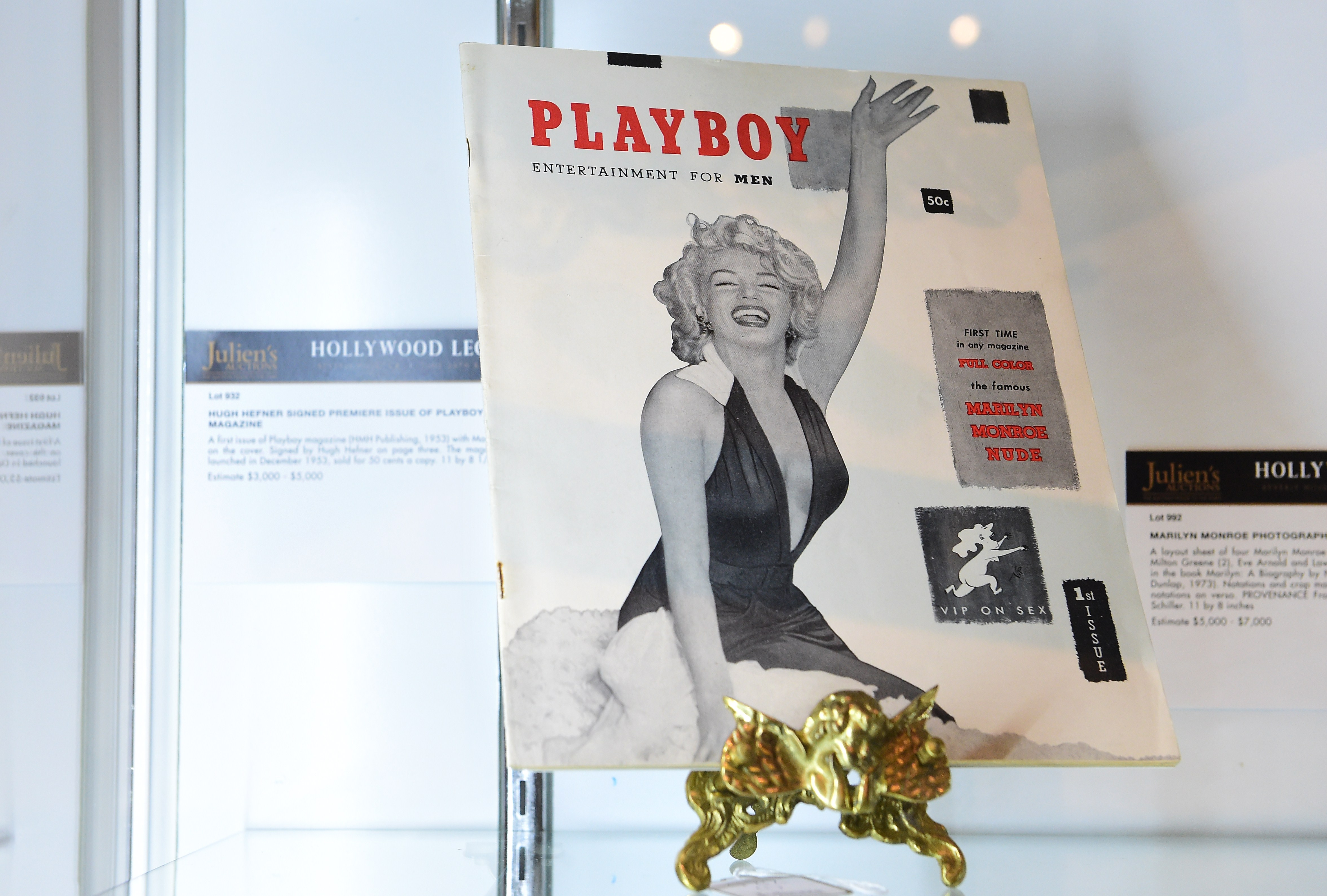 Hefner, founder of Playboy magazine dies at 91