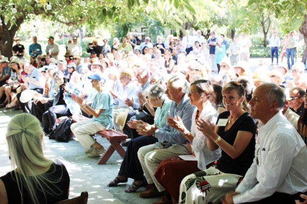 About 500 people attended the Committee for Green Foothills event andfundraiser at Coyote Ranch near San Jose on Sept. 24, 2017. It's getting bigger -- just three years ago, only 200 people went to the event, and membership has nearly doubled since 2013./Contributed by Ian Webb-Harding