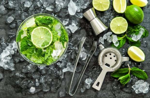 Fresh lime is the basis for many tiki cocktails, including mojitos, maitais and the Missionary's Downfall. (Thinkstock)