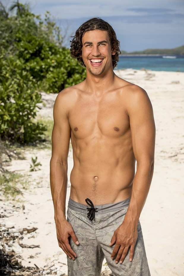 """Devon Pinto, will be one of the 18 castaways competing on SURVIVOR this season, themed """"Heroes vs. Healers vs. Hustlers,"""" when the Emmy Award-winning series returns for its 35th season premiere on, Wednesday, September 27 (8:00-9:00 PM, ET/PT) on the CBS Television Network. Photo: Robert Voets/CBS Ì?å©2017 CBS Broadcasting, Inc. All Rights Reserved."""
