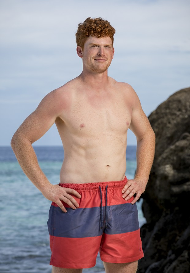 """Patrick Bolton, will be one of the 18 castaways competing on SURVIVOR this season, themed """"Heroes vs. Healers vs. Hustlers,"""" when the Emmy Award-winning series returns for its 35th season premiere on, Wednesday, September 27 (8:00-9:00 PM, ET/PT) on the CBS Television Network. Photo: Robert Voets/CBS Ì?å©2017 CBS Broadcasting, Inc. All Rights Reserved."""