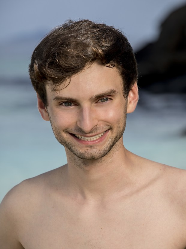 """Ryan Ulrich, will be one of the 18 castaways competing on SURVIVOR this season, themed """"Heroes vs. Healers vs. Hustlers,"""" when the Emmy Award-winning series returns for its 35th season premiere on, Wednesday, September 27 (8:00-9:00 PM, ET/PT) on the CBS Television Network. Photo: Robert Voets/CBS �?�2017 CBS Broadcasting, Inc. All Rights Reserved."""