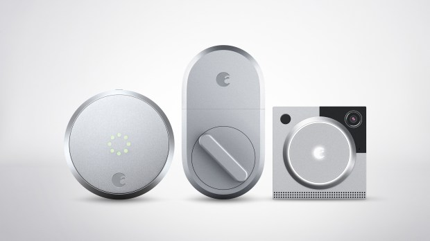 Smart locks allow users to enter or leave their homes without having to worry about keys, and to let others inside remotely. August has several varieties, including these new products, which attach to the existing deadlock. August Smart Lock Second Generation, from left, $199, August Smart Lock, $149, and August Doorbell Cam Pro, $199, store.august.com