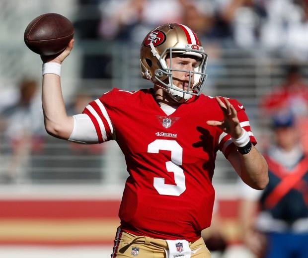 49ers quarterback C.J. Beathard