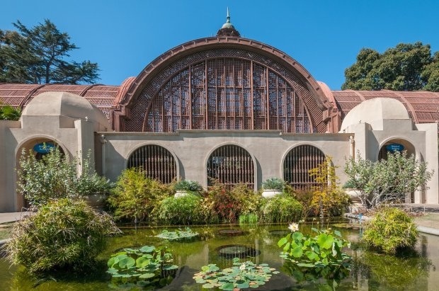 The Botanical Garden at San Diego's Balboa Park dates back to the 1915 Panama-California Exposition.(Thinkstock)