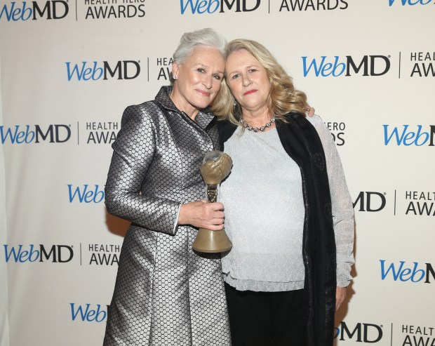 NEW YORK, NY - NOVEMBER 05: Actress Glenn Close and Jessie Close attend the 2015 Health Hero Awards hosted by WebMD at The Times Cente on November 5, 2015 in New York City. (Photo by Jemal Countess/Getty Images for WebMD)