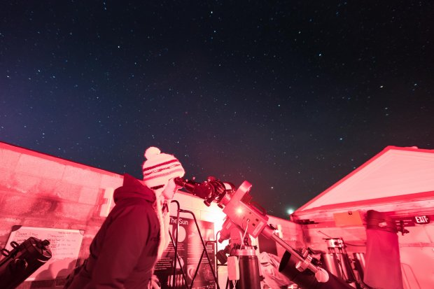 The Oregon Observatory at Sunriver offers views of the star-studded heavensthrough observatory equipment. (Visit Central Oregon)