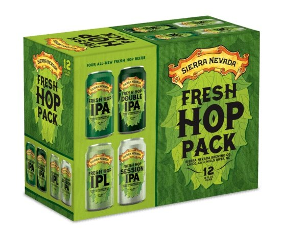 Sierra Nevada Brewing is releasing four varieties of fresh hop beers incans this fall. (Sierra Nevada Brewing)