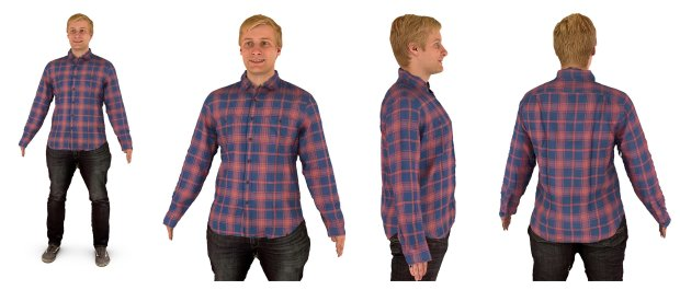 "A 3D portrait captured by Berkeley-based Twindom, which is designingtechnology that will let customers ""try on"" clothes in a virtual environment before they buy. (Courtesy of Twindom)"