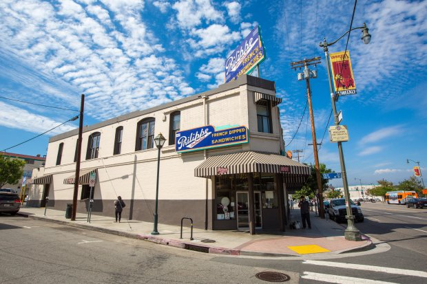 Los Angeles' Philippe the Original dates back to 1908 and is considered thebirthplace of the French Dip Sandwich. (Discover Los Angeles)