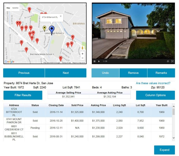 A homeowner can use their knowledge of the neighborhood and schools to enhance ChalkBug's search process.