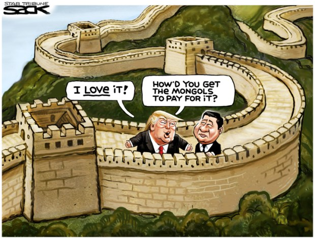 Cartoons Donald Trump And China