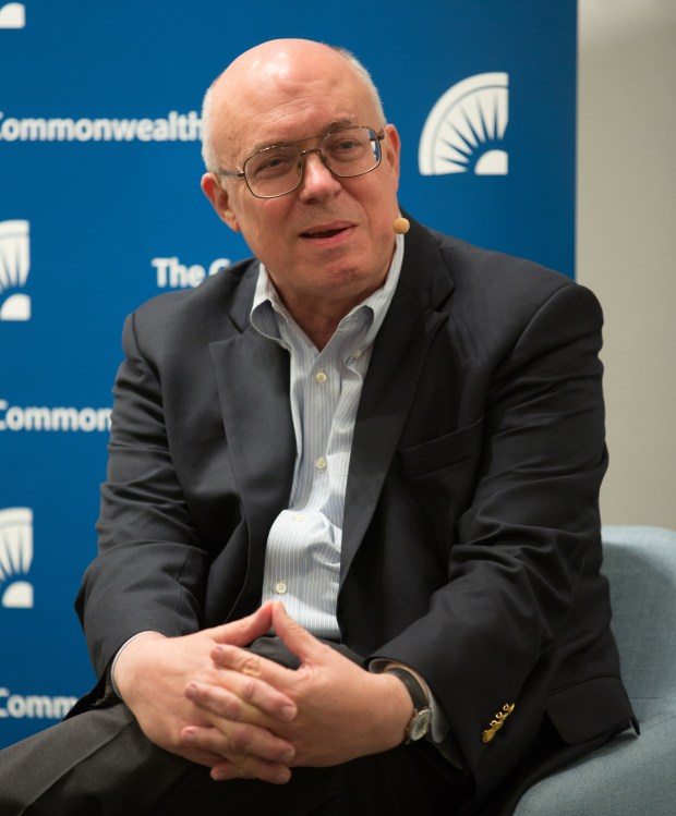 Joe Simitian is seen during a discussion at the Commonwealth Club in San Francisco in October. (Commonwealth Club)