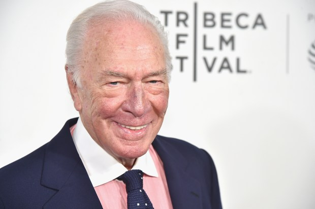 "NEW YORK, NY - APRIL 26: Christopher Plummer attends the ""The Exception"" Premiere - 2017 Tribeca Film Festival at the BMCC Tribeca PAC on April 26, 2017 in New York City. (Photo by Theo Wargo/Getty Images for Tribeca Film Festival)"