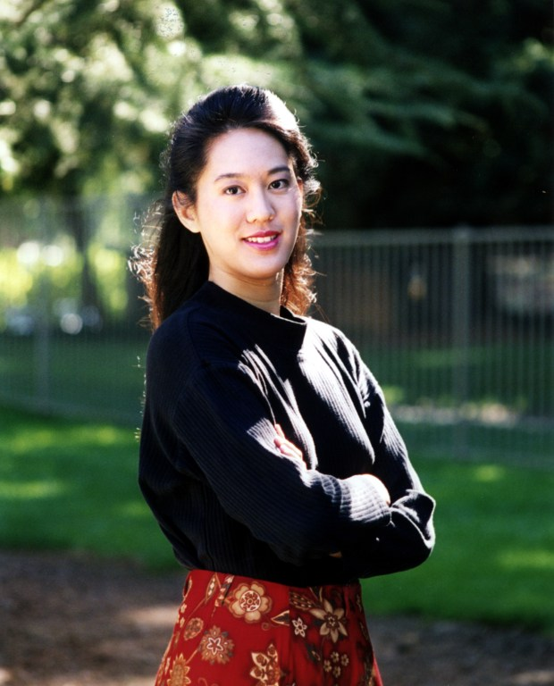 "Famed author Iris Chang as she appeared in 2003. Chang, best known for ""The Rape of Nanking,"" died in 2004, committing suicide in Los Gatos after suffering from depression for many years. (Courtesy Jimmy Estimada)"