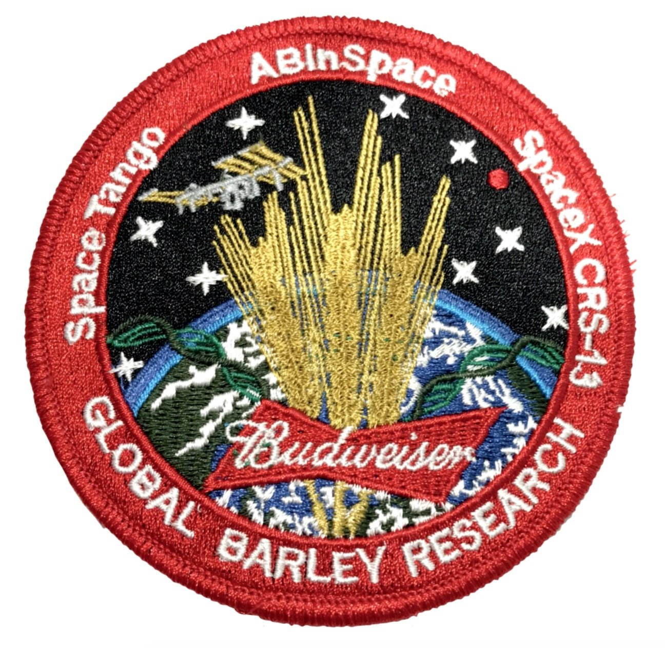 Budweiser to send barley into space