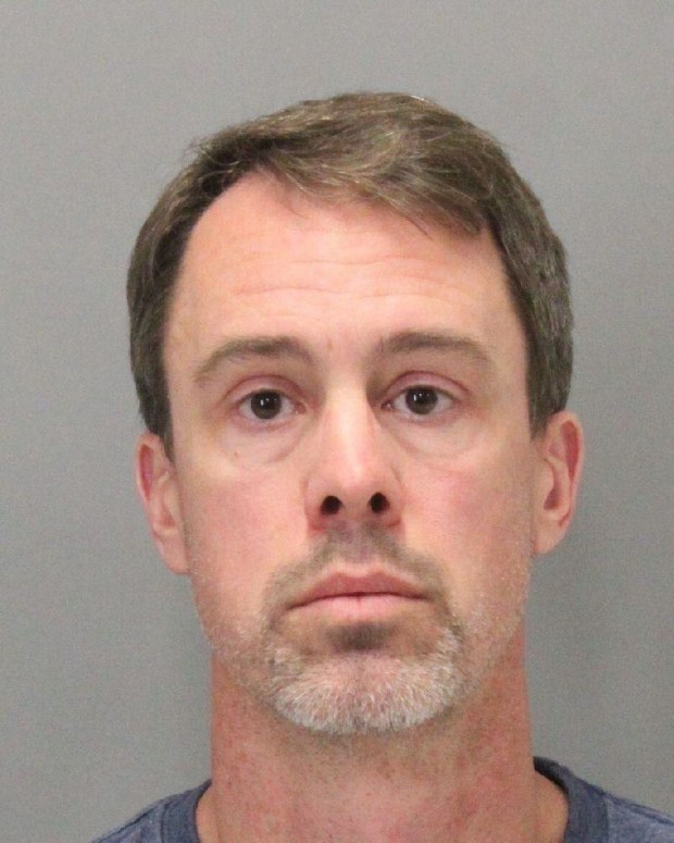 Chad Zitzner, 45, of San Jose, was arrested Nov. 21, 2017 on suspicion of molesting a 12-year-old girl at a summer math camp in Saratoga.