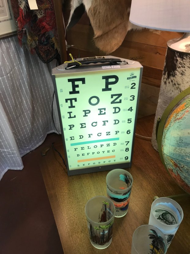 A new antiques emporium in Campbell named Montebello Road features an eclectic array of 1900s vintage collectibles. (Photo courtesy of Nancy Nelson)