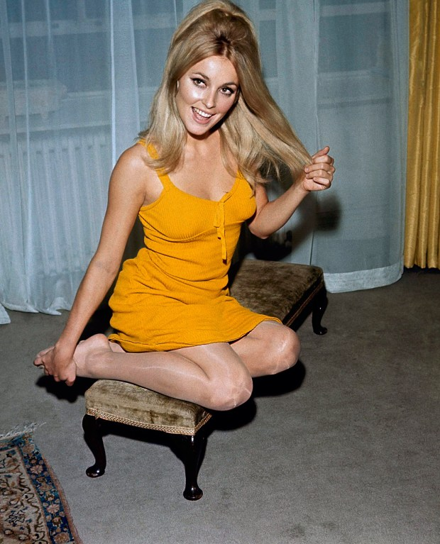 Actress Sharon Tate in 1968. (AP Photo)
