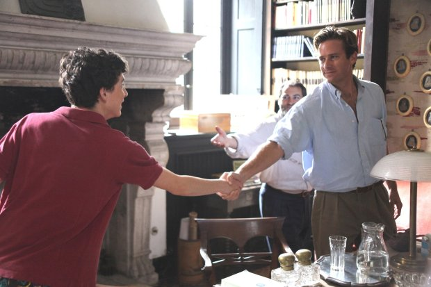 "Timothée Chalamet, left, and Armie Hammer in ""Call Me By Your Name."" (SonyPictures Classics)"
