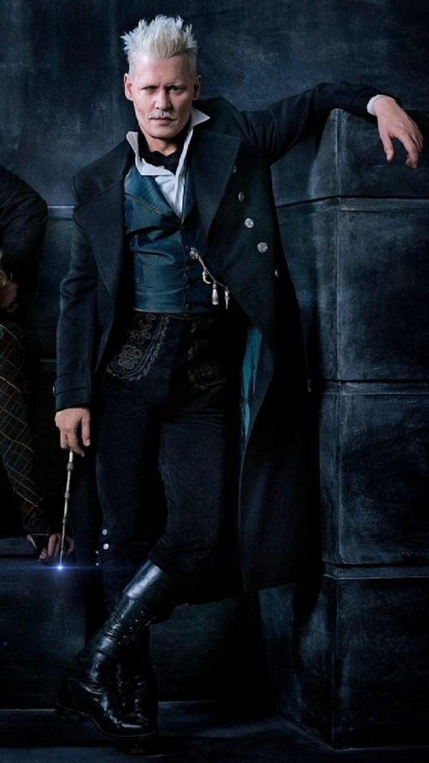 Johnny Depp in 'Fantastic Beats: The Crimes of Grindelwald.' (Warner Bros.)