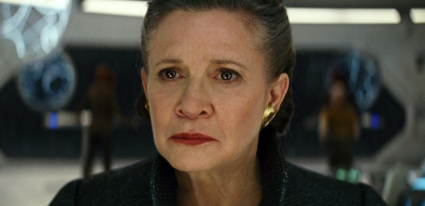 "Carrie Fisher as General Leia in ""Star Wars: The Last Jedi."" (Lucasfilm via AP)"
