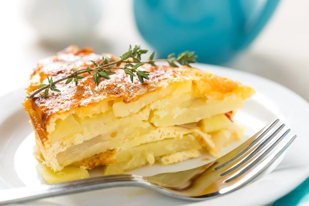 Scalloped potatoes are a classic holiday side. Here's how to achieve potatoperfection -- with 20 minutes of baking time, not two hours. (Courtesy Yelena Yemchuk)